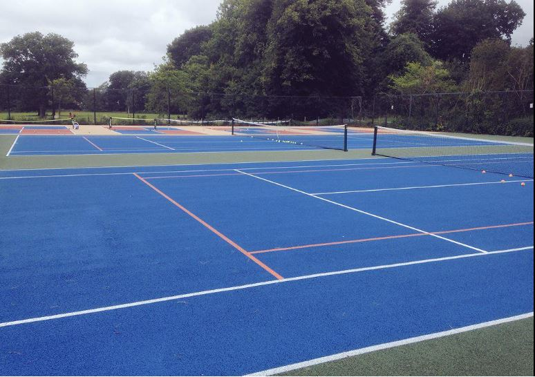 Tennis Courts at Heath Park