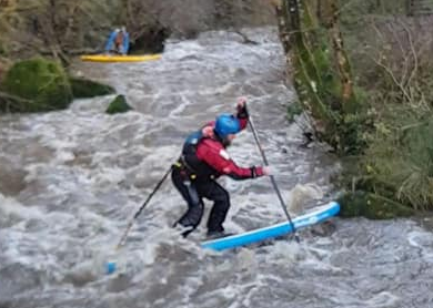 Stand Up Paddle Board - Whitewater