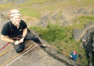 Rock Climbing and Abseil